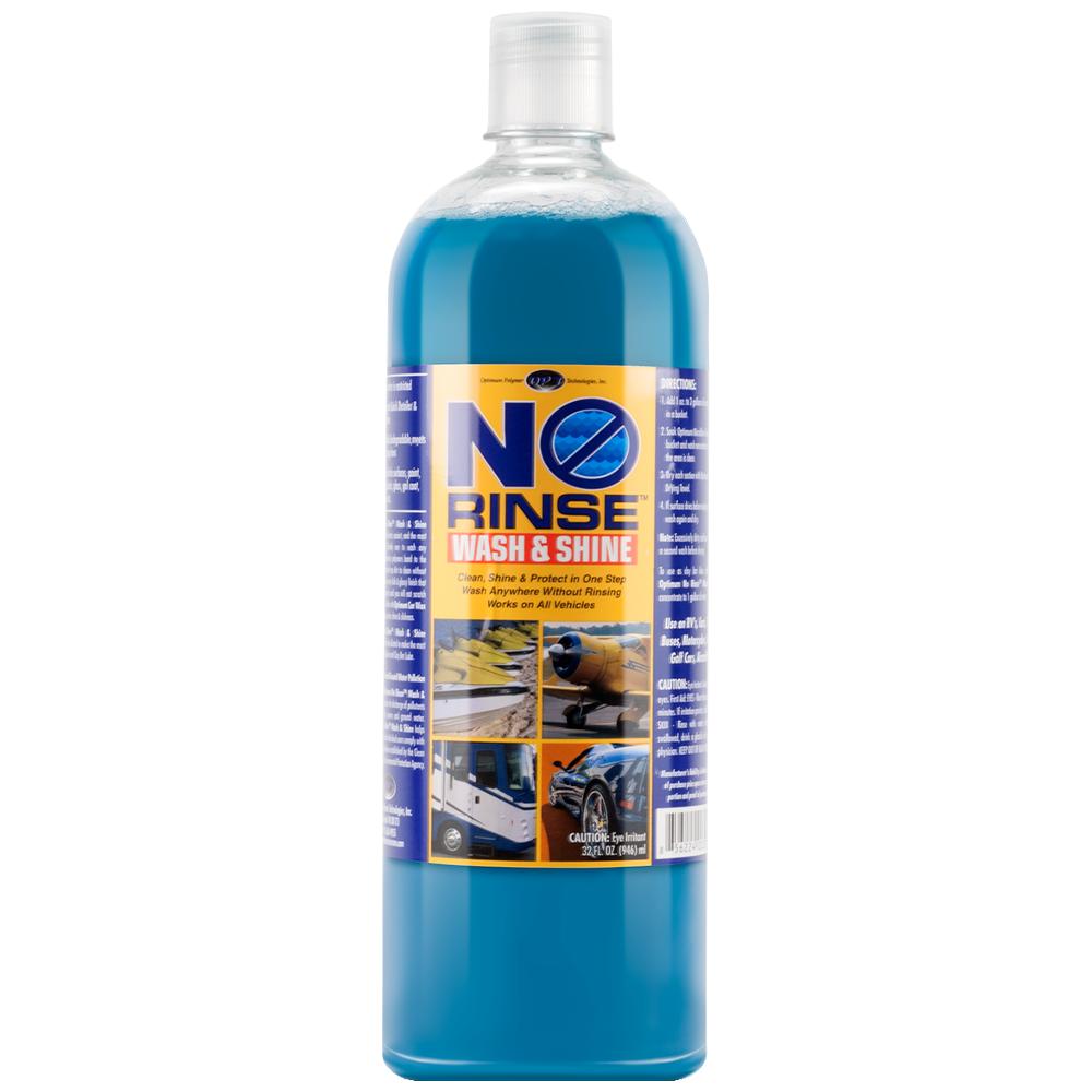 Optimum No Rinse - Wash and Shine